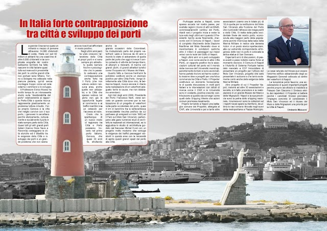 AGOSTO 2021 PAG. 12 - In Italia forte contrapposizione tra città e sviluppo dei porti