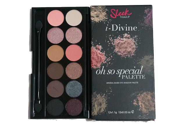 Sleek i-Divine Eye Shadow Palette in Oh So Special