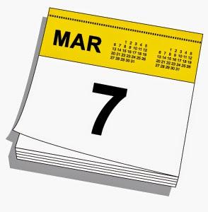 Kalender, Tujuh, Maret, peristiwa, sejarah, portal, positif