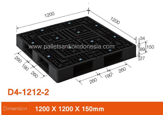 pallet plastik sanko D4-1212-2