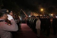 Tradisi Pedang Pora Warnai Acara Purna Bakti Dan Wredatama Periode 1 2019