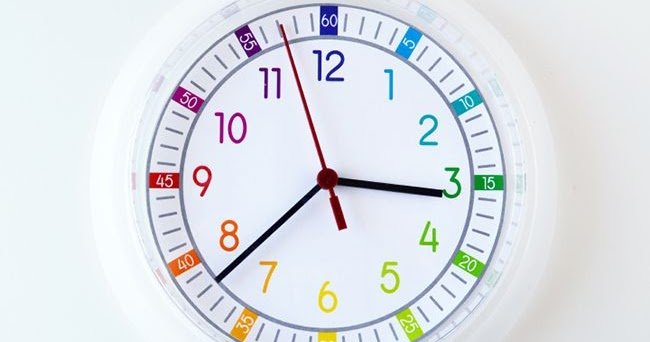 Free Printable Clock Face for Kids | artsy-fartsy mama