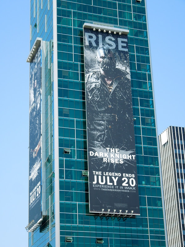 Dark Knight Rises Bane billboard