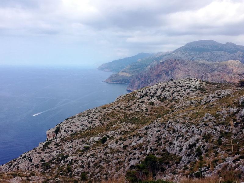 La costa ovest di Maiorca