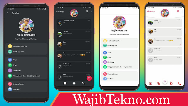 Theme whatsapp ios terbaru 2019