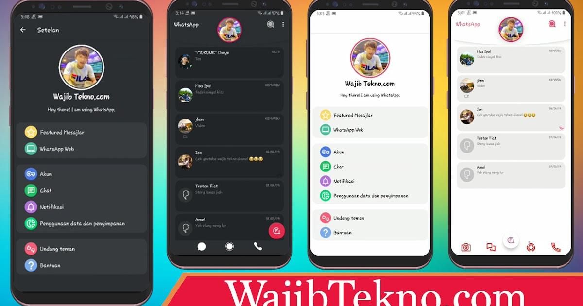 Download Tema Whatsapp Mod Iphone Icon IOS.xml Style Versi
