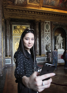 Selfie Versailles