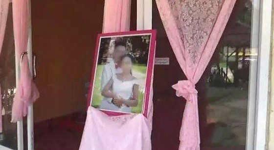 Ảnh cưới của cô dâu chú rể.