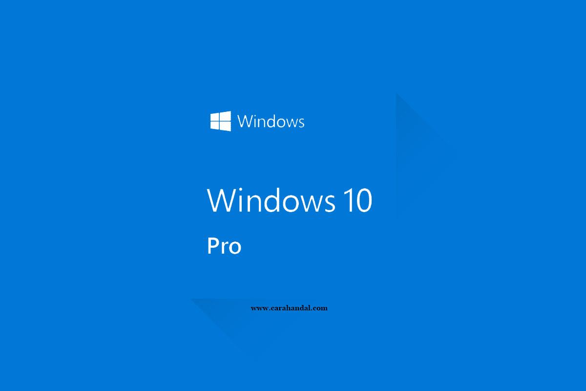 Cara Menggunakan Windows 10 Untuk Pemula
