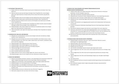 45 Butir – Butir Pancasila berdasarkan Ketetapan MPR No. I/MPR/2003