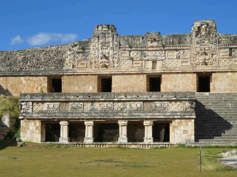 The Quadrangle of Nuns, Uxmal