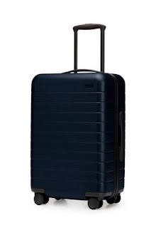 Image of a travel suitcase suitable for exercise use.