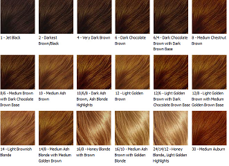 Red Hair Color Charts Have The Chart In Front Of You What Need Is A Nice Haircut And Choosing That Suits Your Skin