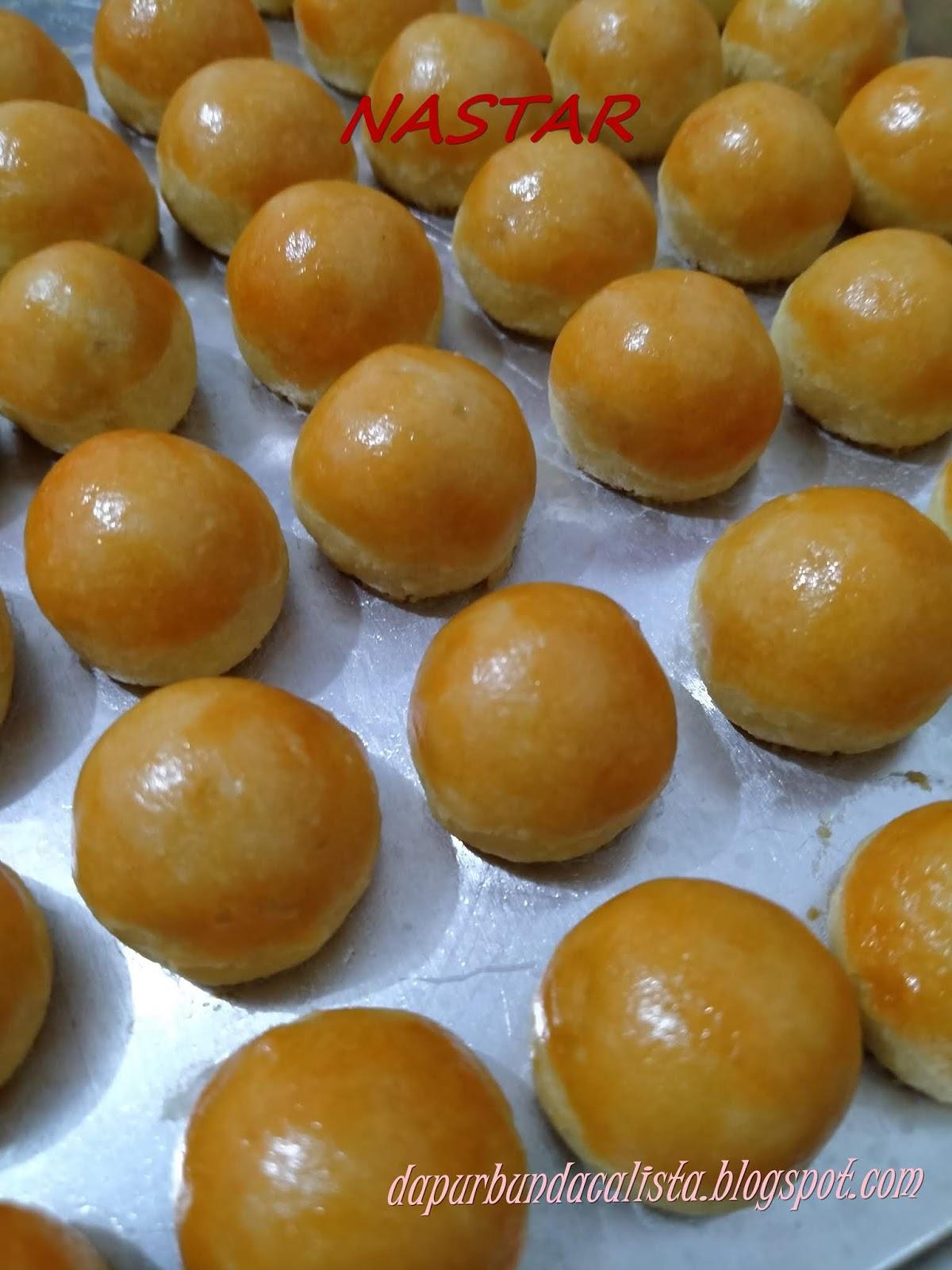 Bahan Bahan Kue Nastar Dan Cara Buatnya : bahan, nastar, buatnya, Dapur, Bunda, Calista