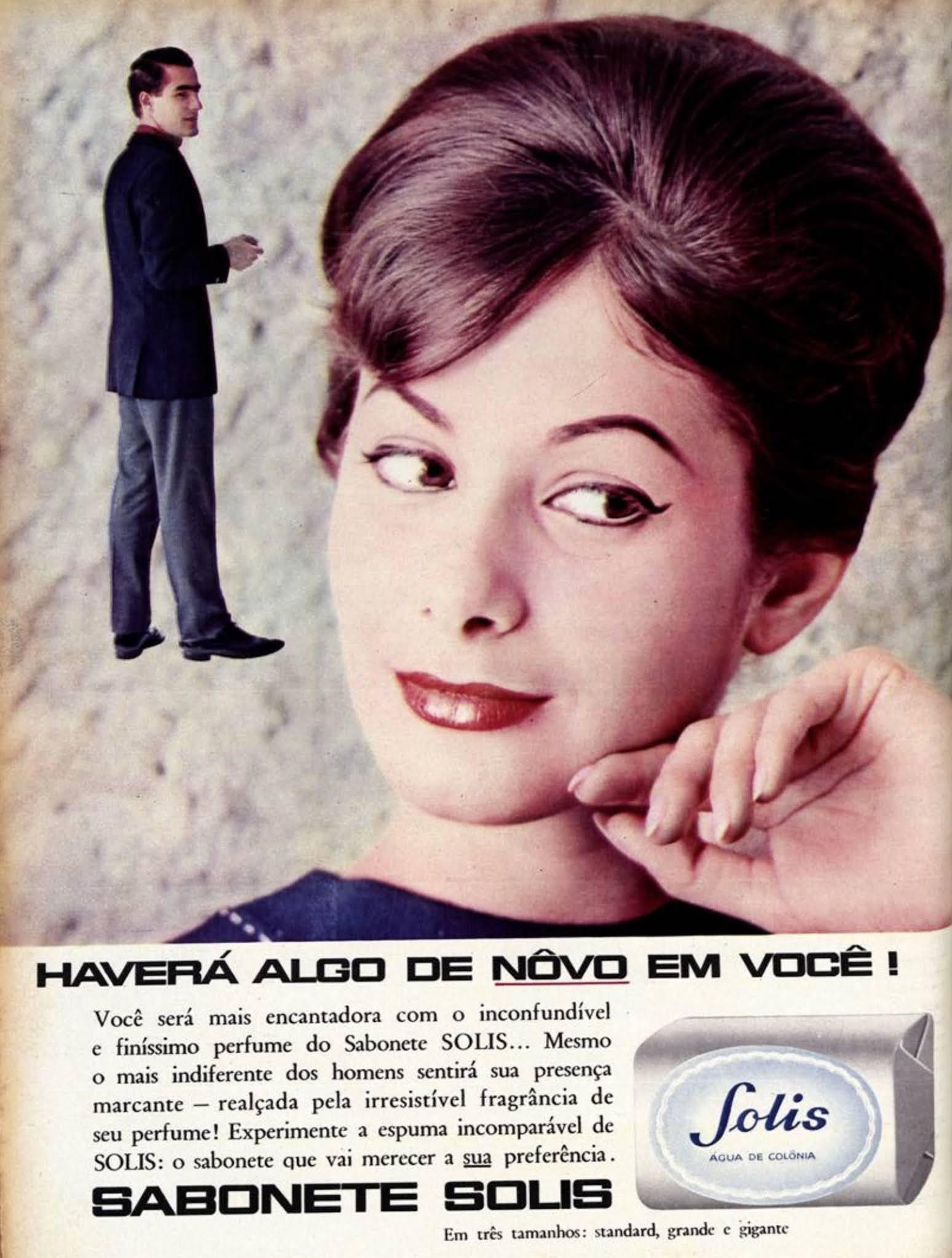 Propaganda antiga do Sabonete Solis veiculada em 1962