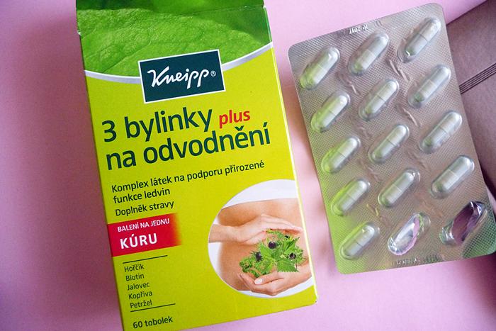 KNEIPP - 3 BYLINKY NA ODVODNĚNÍ recenze