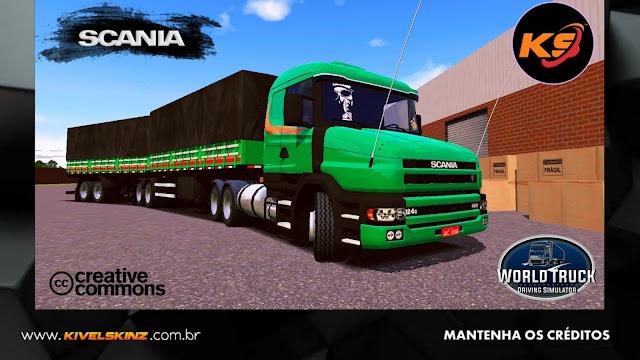 SCANIA T124 - GREEN V8