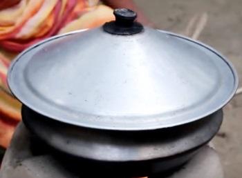 Village Food   Big Cat fish curry