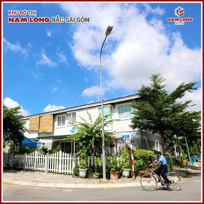Nhà phố vườn khu đô thị Nam Long Bắc Sài Gòn
