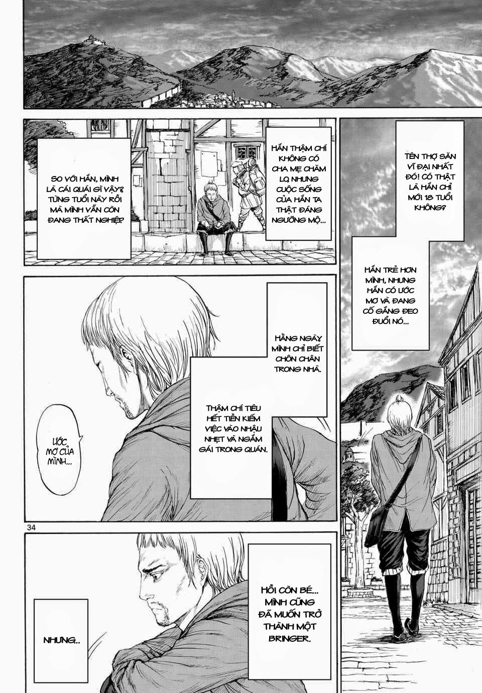 Monster X Monster chapter 1b trang 17