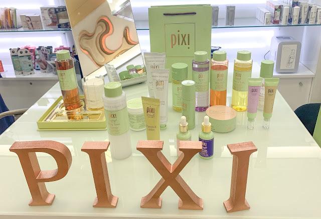 PIXI Skincare Display Harvey Nichols Manchester