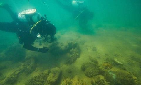 Découverte d'anciens sites archéologiques aborigène sur le fond marin