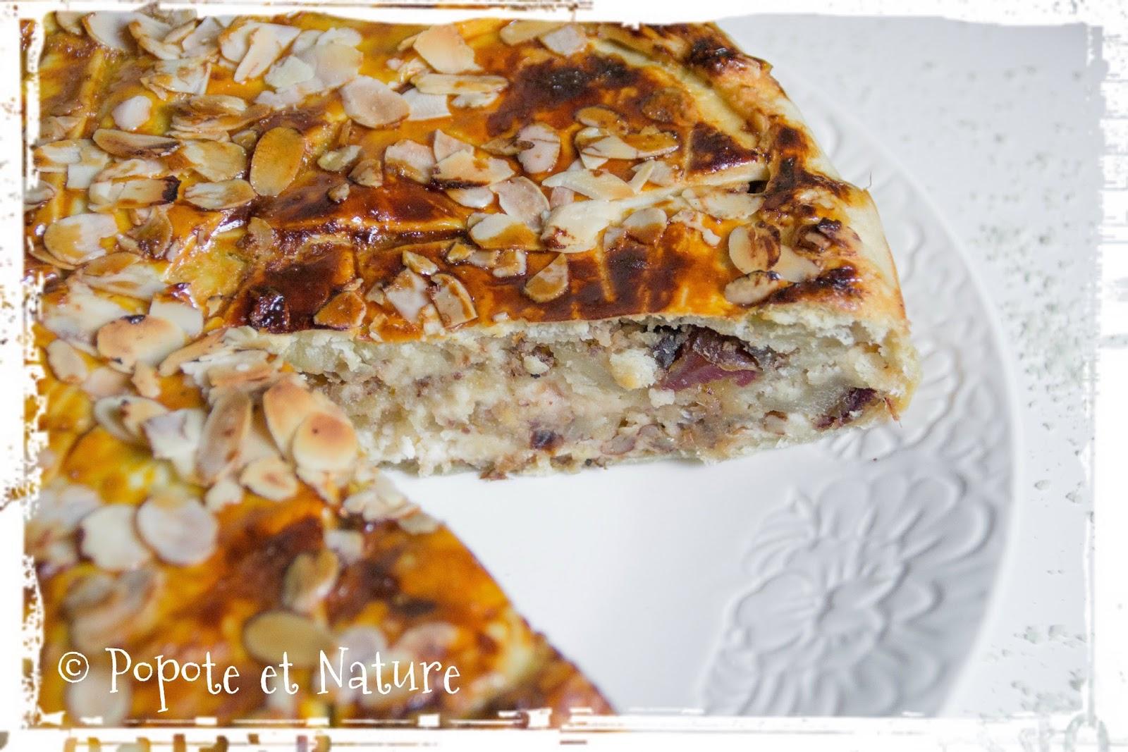 Célèbre Popote et Nature: Tourte à étages à l'amande, noix et dattes  EJ36