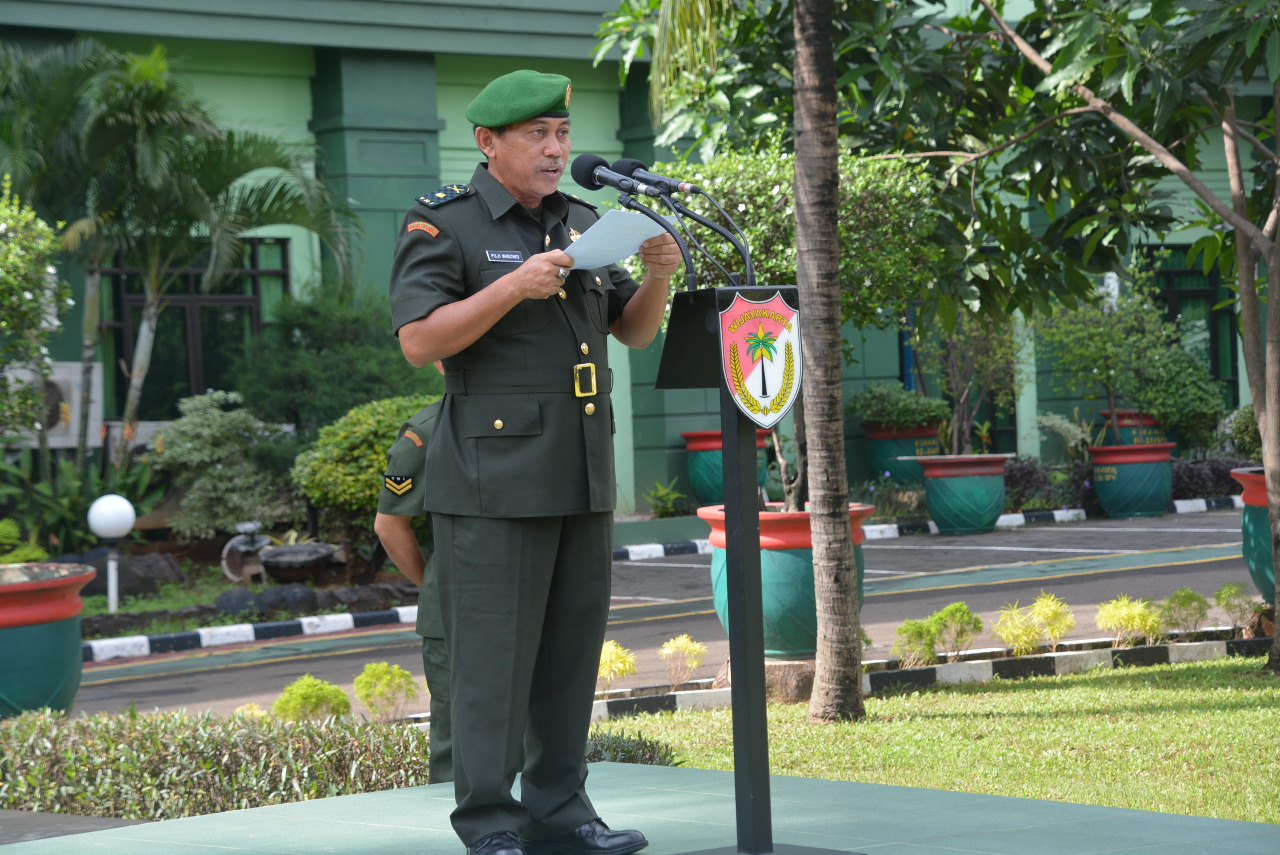 HUT TNI AD, Korem 051/Wkt Gelar Upacara Hari Juang Kartika ~ Suara Topan