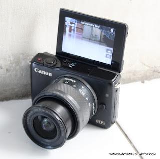 Jual kamera Canon Mirrorles Eos M10 Bekas di Banyuwangi