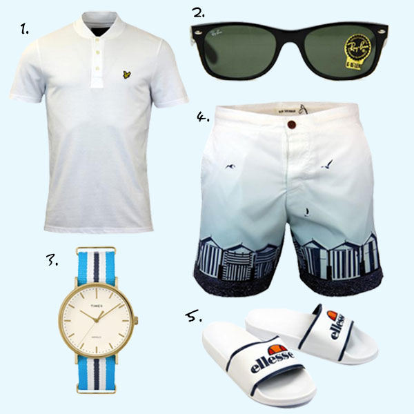 Men's Summer Fashion: Get the Retro Look This Summer