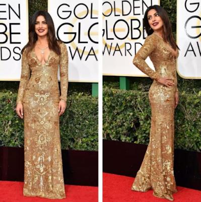 Priyanka Chopra golden globe award 2017