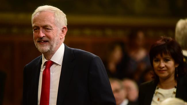 UK Labour Party leader Jeremy Corbyn gives credit to Bernie Sanders for election success