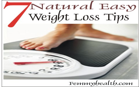 Natural Easy Weight Loss Tips