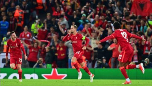 UCL: Liverpool 3-2 AC Milan, Henderson Stunner Settles Group B Thriller