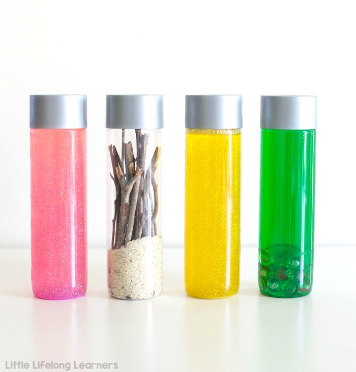 voss sensory bottles for play