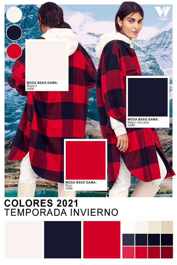 Colores a cuadros moda otoño invierno 2021