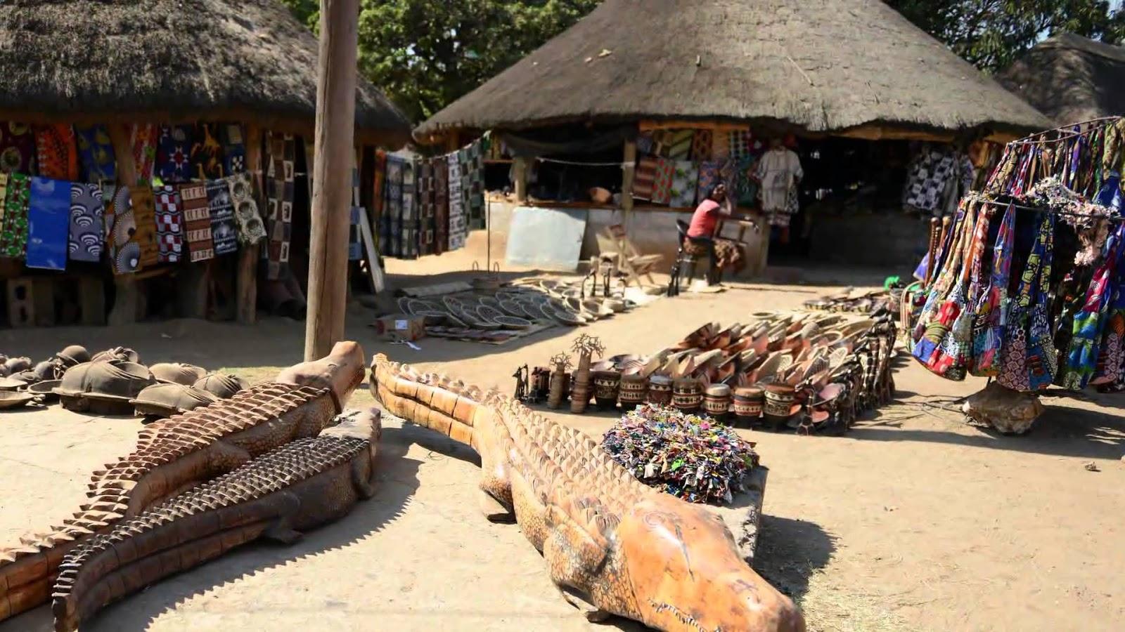 Arts And Crafts Markets Beautiful Zambia