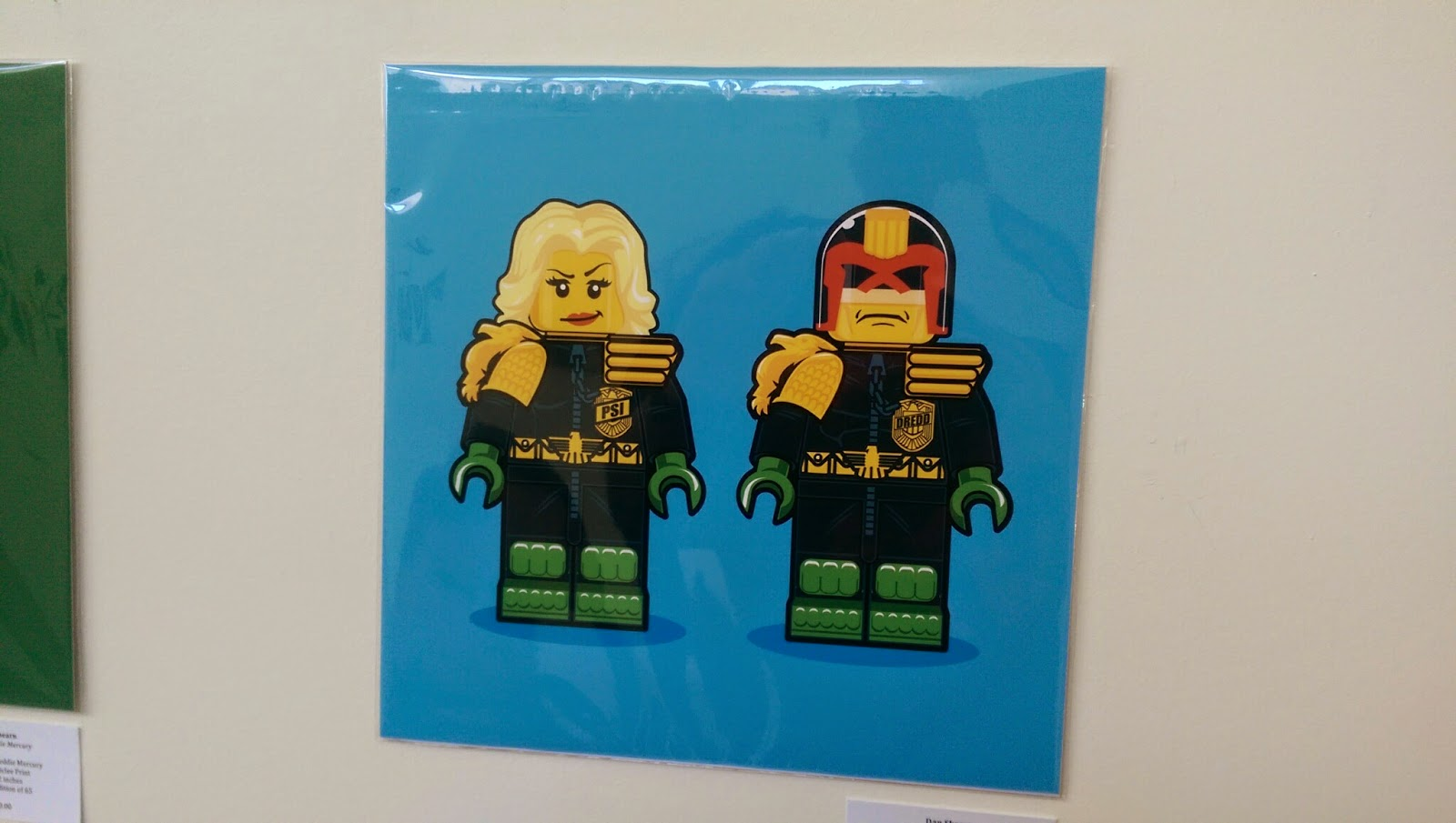 Hero Complex Gallery - LEGO Memories: Judge Dredd