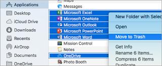 Mac Uninstall Microsoft Office