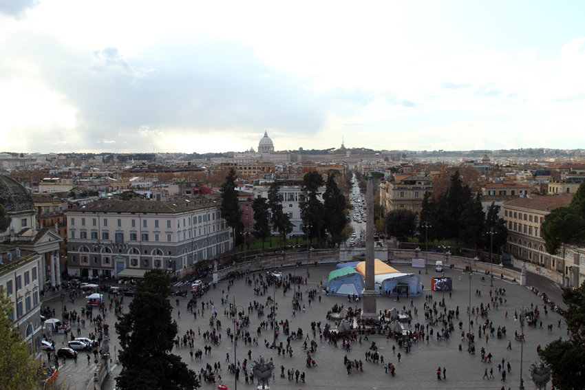 Widok z Pincio