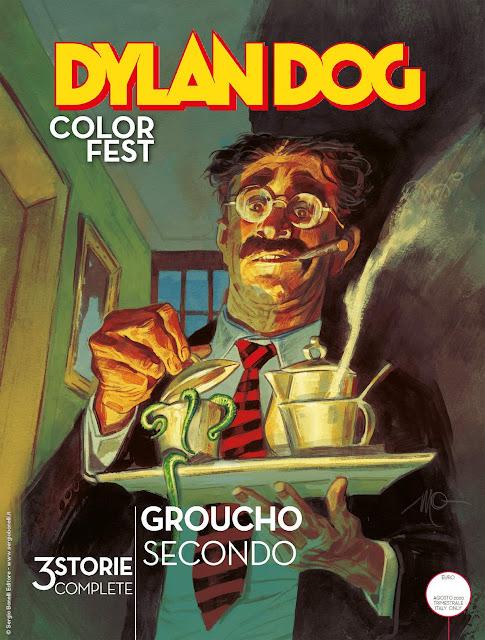 Dylan Dog Color Fest 34 Groucho