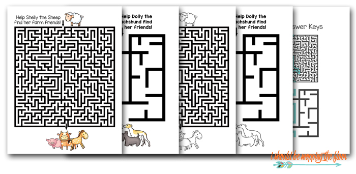 Downloadable Mazes