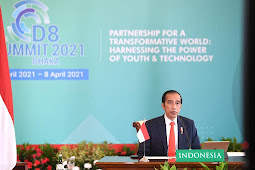 Presiden Jokowi Dorong Tiga Hal pada KTT ke-10 D-8