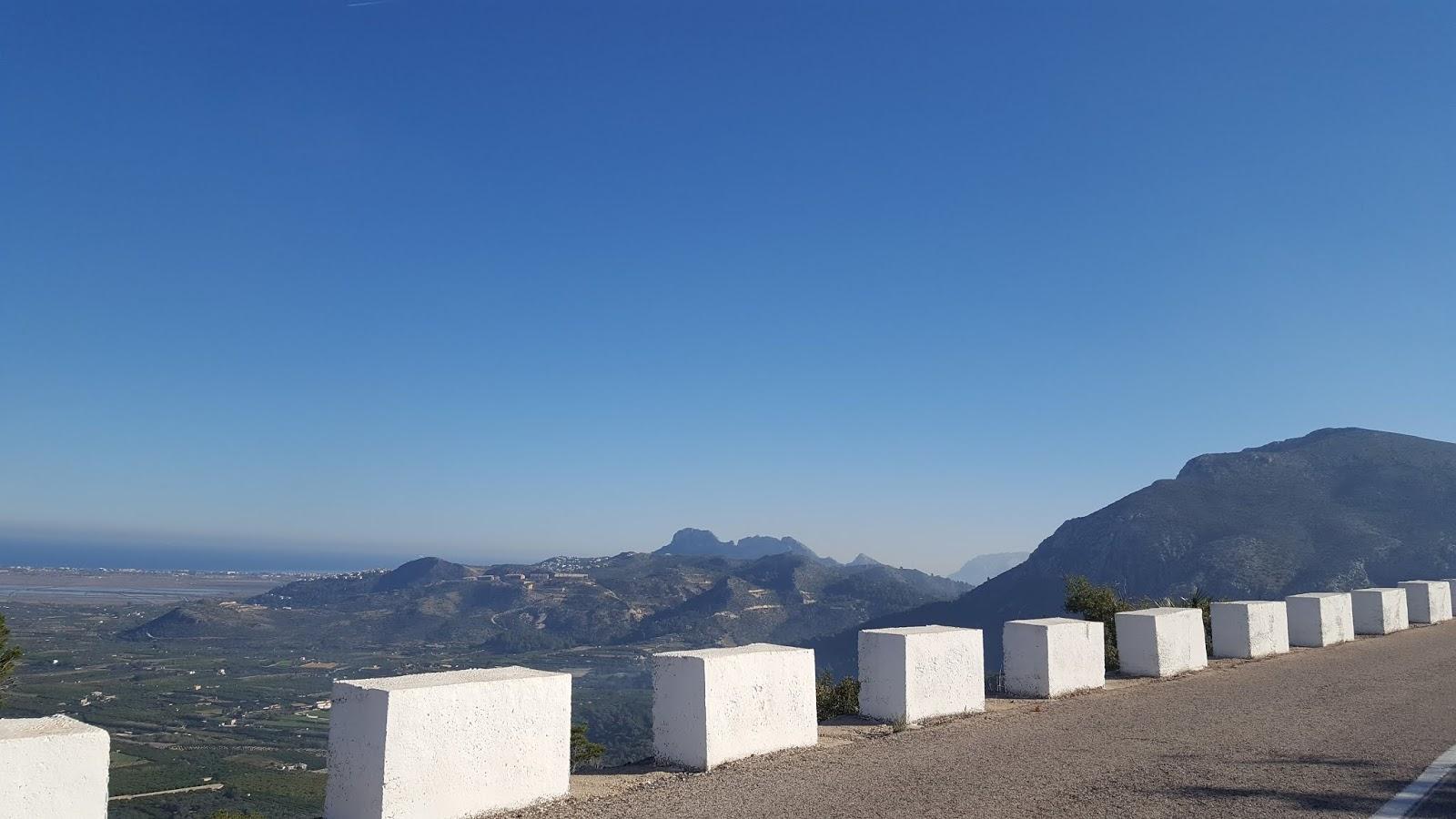 View over Pego-Oliva Marshes, Vall de Ebo climb, Alicante