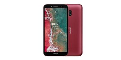 Cara Screenshot Nokia C1 Plus