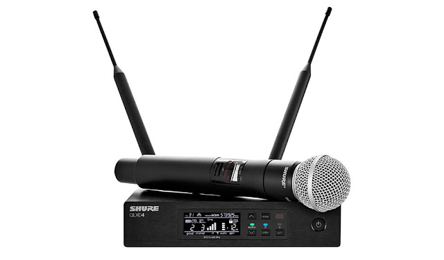Shure QLX-D Digital Wireless System