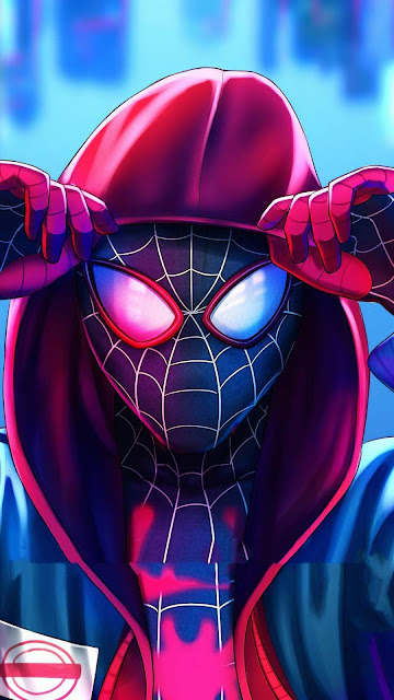 android miles morales wallpaper