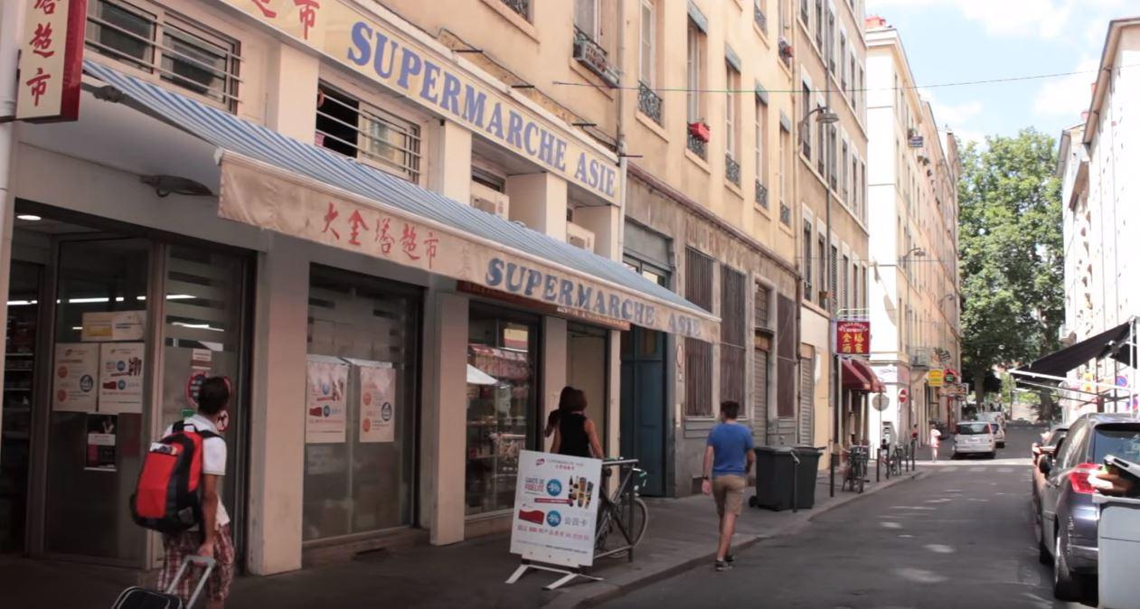 Quartier chinois de Lyon