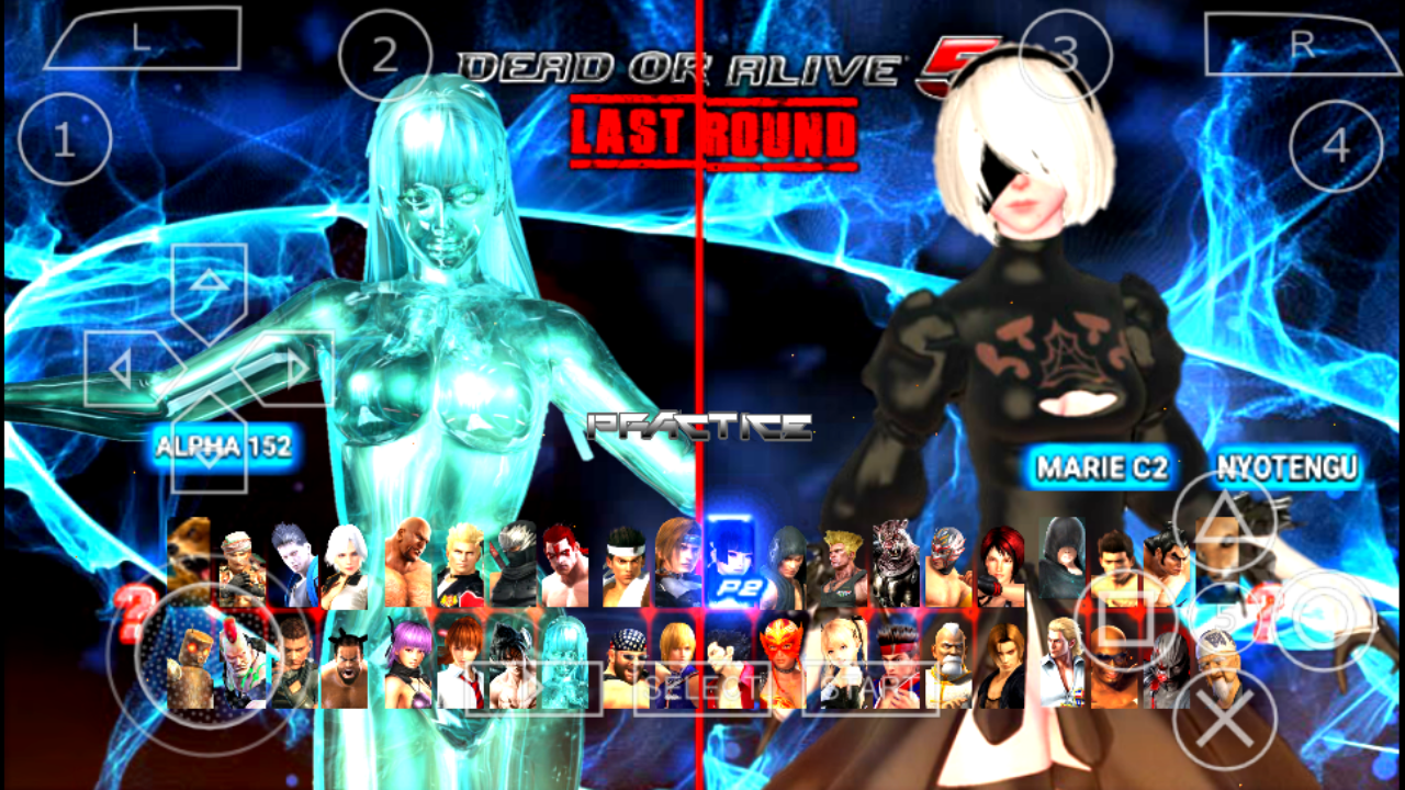 Dead or Alive 5 Last Round Final Mod - PPSSPP Android | The