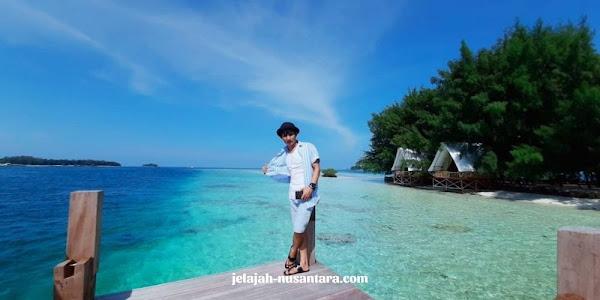 fasilitas private wisata pulau harapan